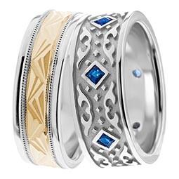 Diamond Wedding Rings Bands Gold Wedding Rings Aida Designs US